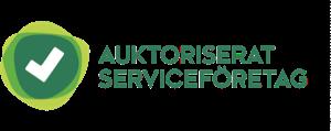 Auktoriserat serviceföretag logga